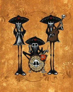 Dos Hombres Band by David Lozeau Day of the Dead Traditional