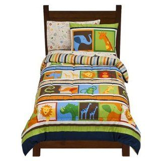 Circo® Animal Bedding Set   Twin: Home & Kitchen