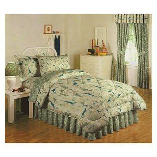 Camo Dinosaur Comforter/sheet Bedding Set Twin
