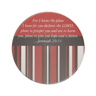 Christian Bible Verse Jeremiah 29:11 Scripture Coaster
