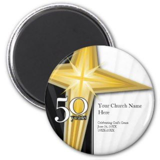 50 Year Church Anniversary Magnet