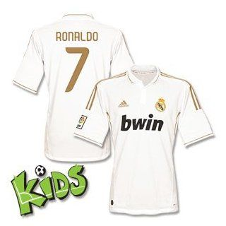 11 12 Real Madrid Home Trikot Boys + Ronaldo 7 (Fan Style) 128cm