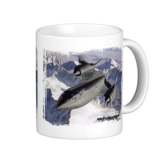 SR 71 Blackbird Coffee Mug