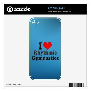 love Rhythmic Gymnastics Skins For iPhone 4S
