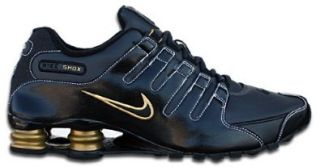 NIKE SHOX NZ EU Anthracite Black Gold EU 49.5 US 15: Schuhe