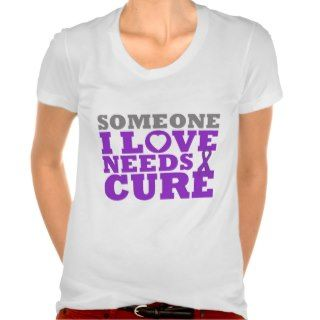 Lupus Someone I Love Needs A Cure Tee Shirt