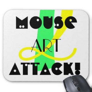 mouse art attack mouse pad