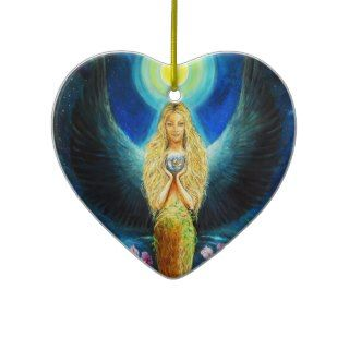 Healing Angel Christmas Tree Ornaments