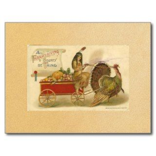 Vintage Happy Thanksgiving Postcard