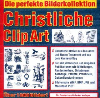 Christliche ClipArt. CD  ROM für Windows, Mac: Software