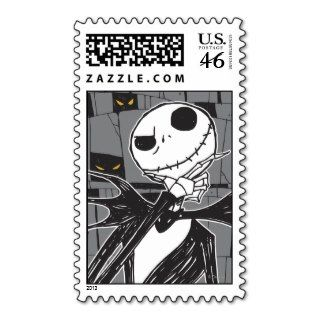 Jack Skellington 9 Postage Stamp