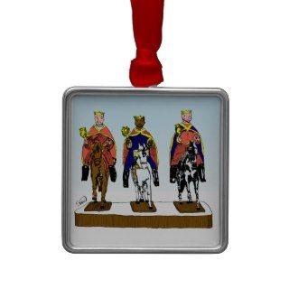 Tres Reyes Magos/ Three Wise Men Christmas Ornament