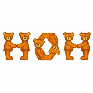Teddy Bear Alphabet ~ Mom Sculpture ~ Custom Name Photo Cut Out
