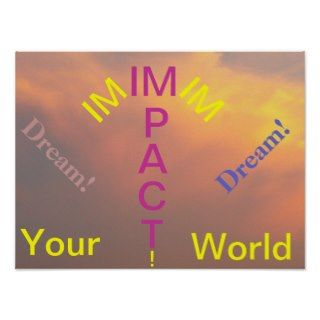 Impact Your World Poster 2