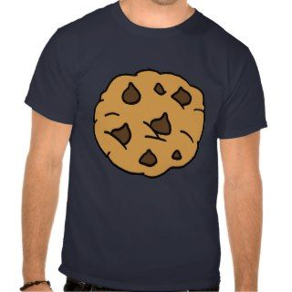 Cartoon Clipart HUGE Chocolate Chip Cookie Dessert T Shirts