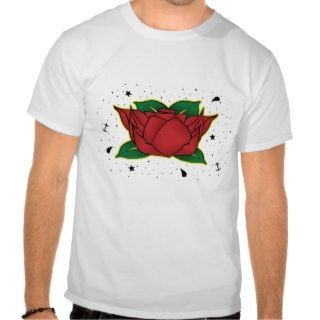 Neo Traditional Rose Tattoo Shirt