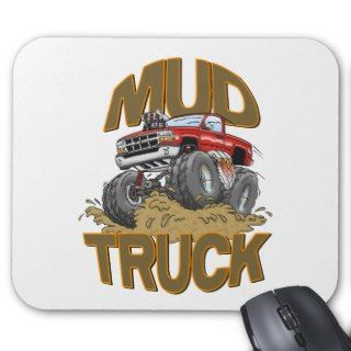 Mud Truck Chevy Mouse Pads