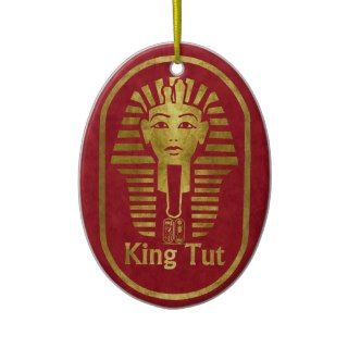 King Tut Christmas Ornament