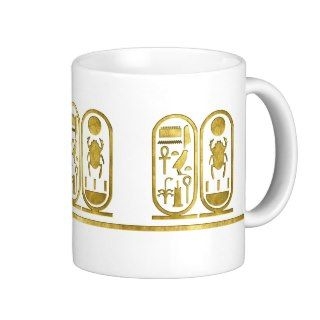 King Tut Cartouche Coffee Mugs