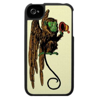 Vintage Wizard of Oz; Evil Flying Monkey Hat Case For The iPhone 4