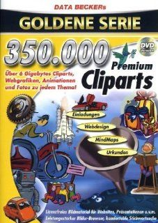 350.000 Premium Cliparts (DVD ROM): Software