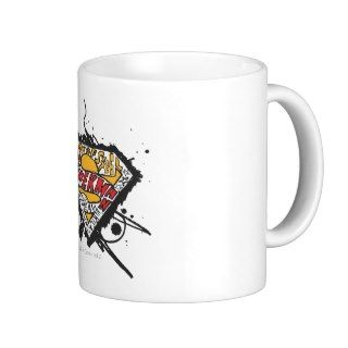 Superman, Logo with letters Coffee Mugs