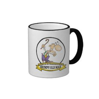 WORLDS GREATEST GRUMPY OLD MAN CARTOON MUGS