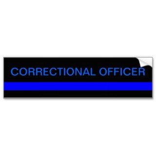 Correctional officer bumper sticker