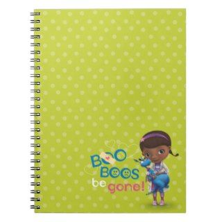 Doc McStuffins and Stuffy   Boo Boos Be Gone Spiral Notebooks