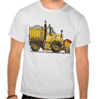 Snow Plow Truck Apparel Tshirt