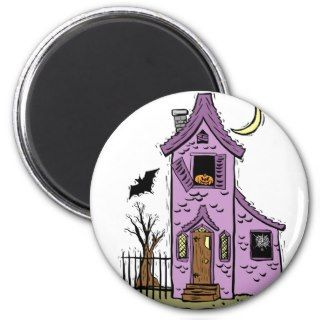 Abandoned Haunted House Fridge Magnets