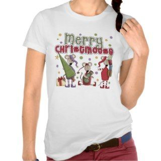 Merry Christmouse Christmas T Shirt