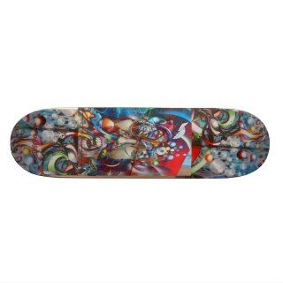 Clarion Alley Grafitti Skateboard Deck