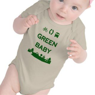Green Baby Save Earth Stop Global Warming Organic T shirt