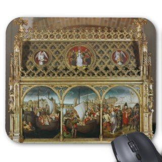 The Reliquary of St. Ursula, 1489 Mouse Pad