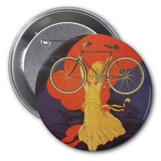 Vintage Antique Peugeot Bicycles Bike Button