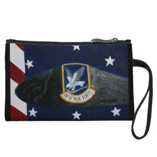 Air Force Security Forces Wristlet Purse