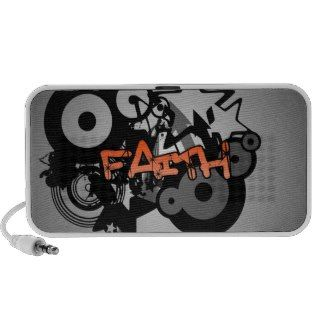FAITH Graffiti Art Mp3 Speakers