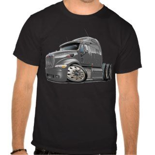 Peterbilt Grey Truck T Shirts