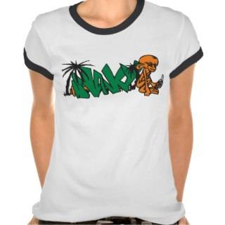 Monkey Graffiti Art Tshirts