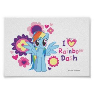 Heart Rainbow Dash Print