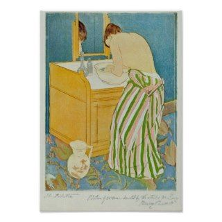 The Toillette by Mary Stevenson Cassatt Print