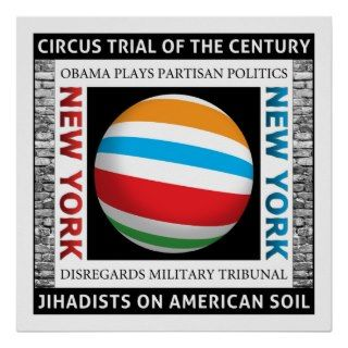New York Circus Trial Print