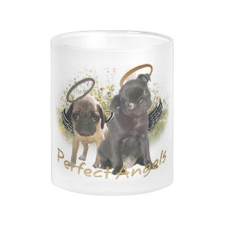Perfect Angel Pugs Coffee Mug