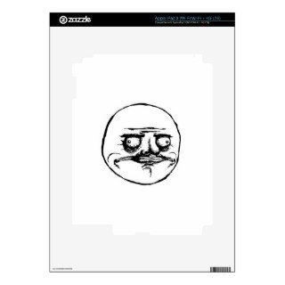 Meme Face iPad 3 Skin