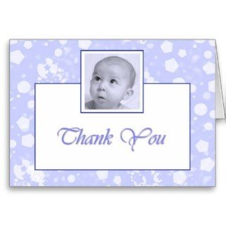 Boy Baptism / Christening Thank you Greeting Cards