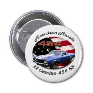 Chevy El Camino 454 SS Button