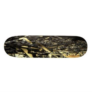 America Under Siege Custom Skateboard