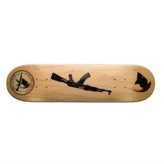 Molon Labe (Come and Take Them) Skate Board