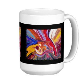 Al Rehman Allah name Painting Mugs